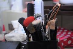 Makeup tools Stock Photos