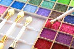 Makeup tools Stock Photo