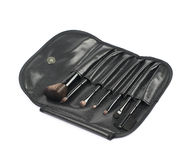 Makeup tools case bag isolated Royalty Free Stock Photography