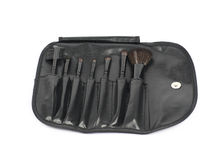 Makeup tools case bag isolated Royalty Free Stock Image