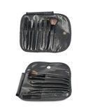 Makeup tools case bag isolated Royalty Free Stock Images
