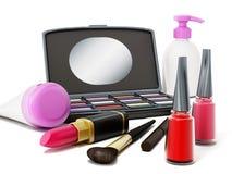 Makeup tools Royalty Free Stock Photo