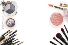 2016 makeup trends,smoky and peachy Royalty Free Stock Images
