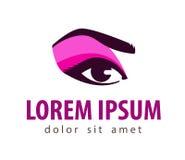 Makeup vector logo design template. cosmetic Stock Images