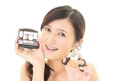 Makeup woman Stock Photos