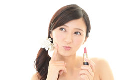 Makeup woman Royalty Free Stock Photography