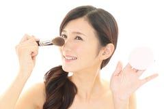 Makeup woman Stock Images
