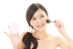 Makeup woman Royalty Free Stock Images