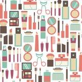 Makeup wzór Fotografia Stock