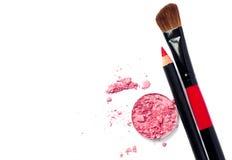 Makeup zestaw Zdjęcia Stock