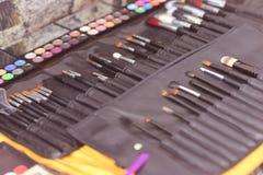 makeup zestaw Zdjęcia Royalty Free