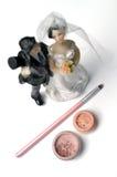 makeupbröllop Royaltyfria Foton