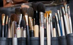 makeuphjälpmedel Arkivbilder