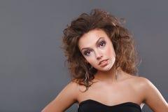 makeupkvinna Royaltyfri Foto