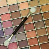 makeuppalett Arkivfoto