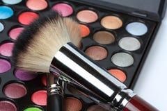 makeuppallete Fotografering för Bildbyråer