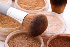 makeupprodukter Royaltyfri Fotografi