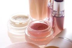 makeupprodukter Arkivbild