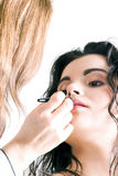 makeupprofessionell Fotografering för Bildbyråer