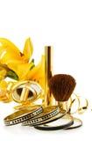 Makeups e jóia luxuosos Fotos de Stock