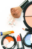 Makeupsamling Arkivfoton