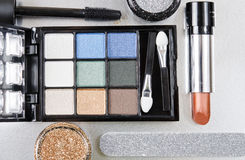 Makeupsats Royaltyfri Bild