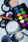 Makeupskönhetsmedel Arkivfoto
