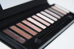 Makeupskönhetsmedelsats Arkivfoton