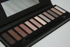 Makeupskönhetsmedelsats Arkivbilder
