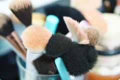 Makeupsvampar Royaltyfri Bild