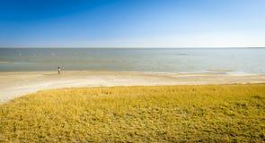 Makgadikgadi Pan Lake Stock Image