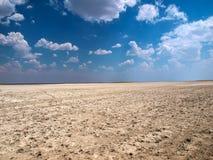Makgadikgadi zoute pannen stock fotografie