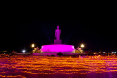 Makha Bucha Day Stock Images