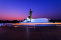 Makha Bucha Day. Falls on the 15th lunar month is an important day in the Buddhist religion Royalty Free Stock Photos