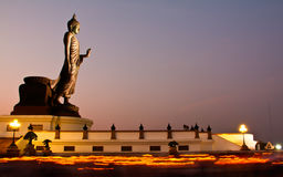 Makha Bucha day Royalty Free Stock Photography