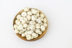 Makhaana asado (foxnut) Fotos de archivo libres de regalías