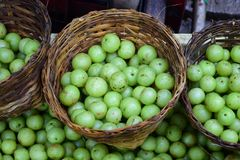 Makhampom or Indian gooseberry. stock photography