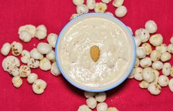 Free Makhana Kheer, Made With Puffed Lotus Seeds Or Makhane Stock Image - 126832971