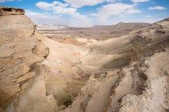 Makhtesh Gadol (den stora krater) - Negev, Israel Royaltyfri Bild