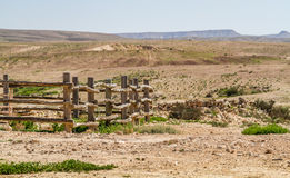 The Makhtesh Gadol in Negev desert, Israel Royalty Free Stock Photography