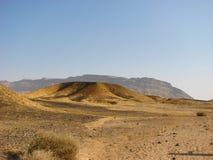 Makhtesh Katan (das kleine Makhtesh) Stockfotos