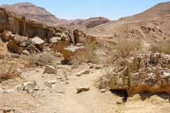 Makhtesh Ramon Royalty Free Stock Photography
