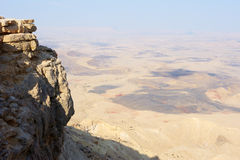Makhtesh Ramon Royalty Free Stock Photos