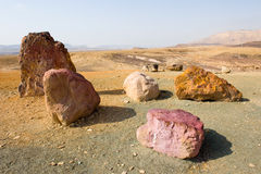 Makhtesh ramon Royalty Free Stock Image