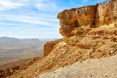 Makhtesh Ramon Crater in Israele immagine stock libera da diritti