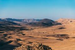 Free Makhtesh Ramon Crater Landscape In Israel`s Negev Desert. Royalty Free Stock Photo - 181569465