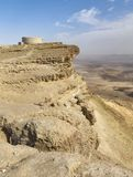 Makhtesh Ramon Crater in the Negev Highlands in Israel stock photo