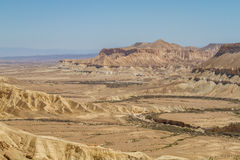 The Makhtesh Ramon in Negev desert, Israel Stock Photography