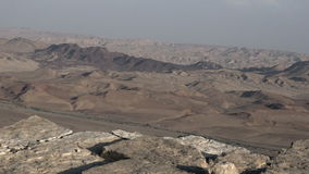 Makhtesh Ramon - Ramon Crater - Israel stock video