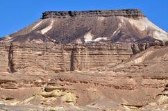 Makhtesh Ramon - Ramon Crater - Israel. Rock formations in Makhtesh Ramon, Ramon Crater, in the Negev desert , Israel Stock Photography